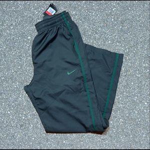 NWT Nike men's size large grey green stripe pants